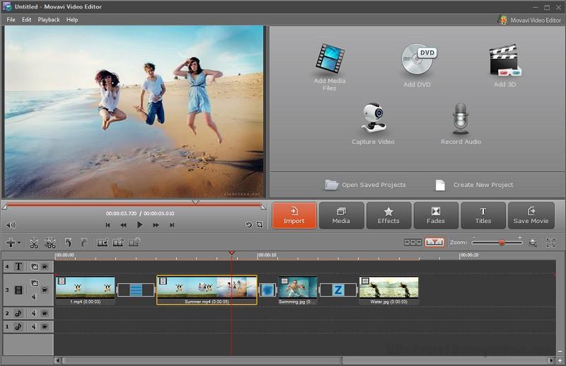 movavi video editor free version